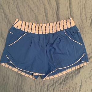 Lulu lemon blue shorts size 6
